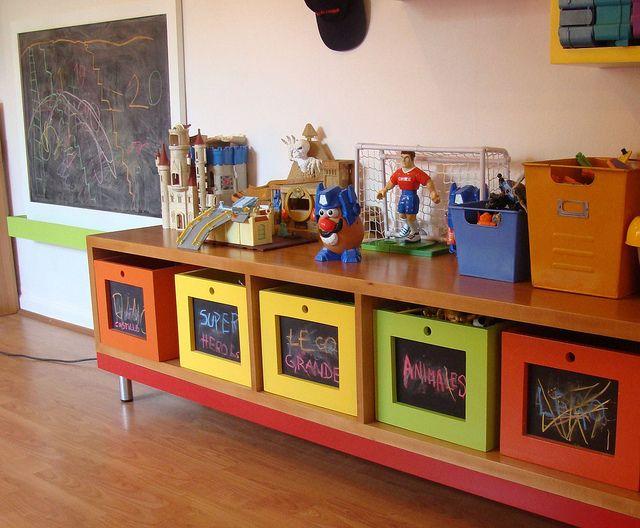 17 mejores ideas sobre muebles para ni os en pinterest - Cajon para guardar juguetes ...