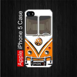 Orange Volkswagen Camper Van iPhone 5 Case. $22.5 Free Shipping