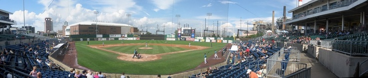 The Ballpark at Harbor Yard - Bridgeport Bluefish, Atlantic Independent League of Baseball