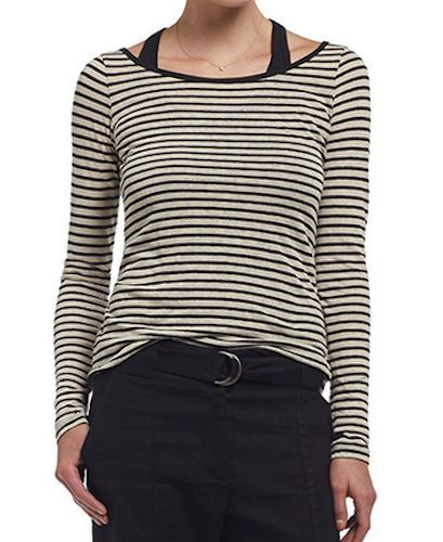 Bailey 44 Anthropologie Saks Table Mountain Stripe Layered Knit Top M $142 #Bailey44 #KnitTop