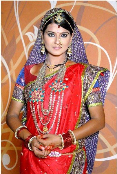 Kratika Sengar in Jhansi Ki Rani Serial