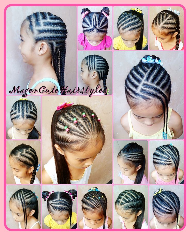 Natural Baby Cornrows Hairstyles