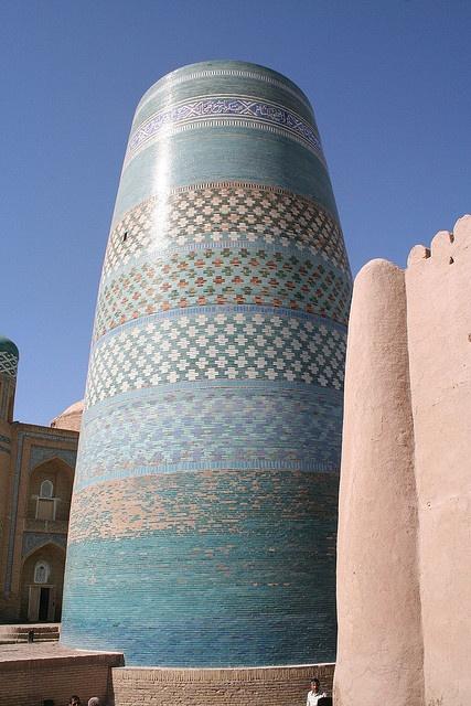 Khiva, Uzbekistan -- More nice tiles...