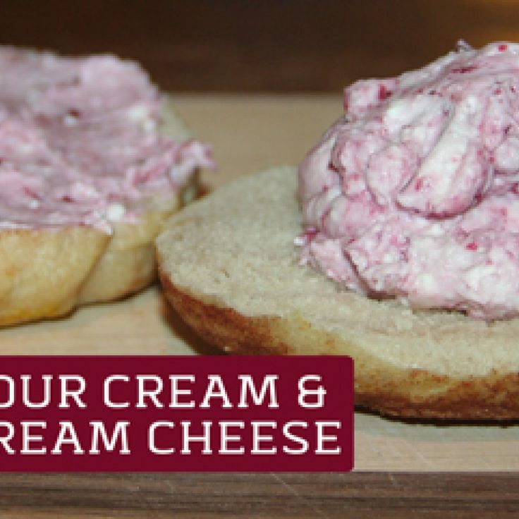 Because sourdough bagels and fruit flavored cream cheese will live happily ever after...
