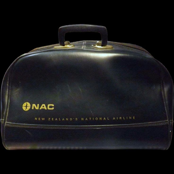 National Airways Corporation (NAC) of New Zealand Crew Bag