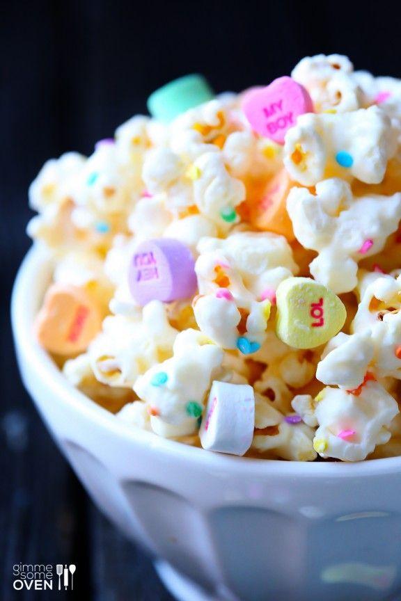 Valentine popcorn!