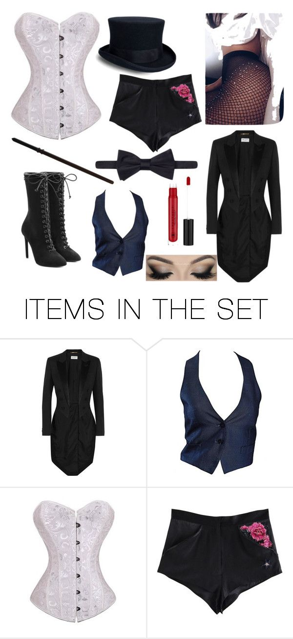 """Zatanna cosplay"" by emocoffee19 ❤ liked on Polyvore featuring art"