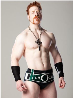 » Sheamus ... I dot know why???? Maybe it's cause he's whiter