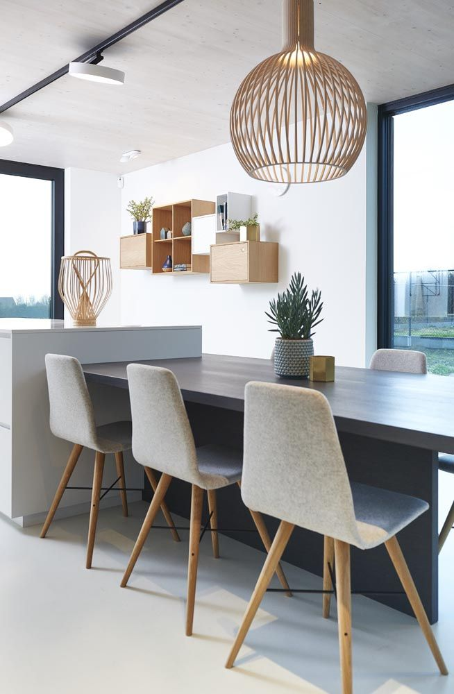 Beaver chairs Bolia, vases Bloomingville and Ferm Living, cases Bolia