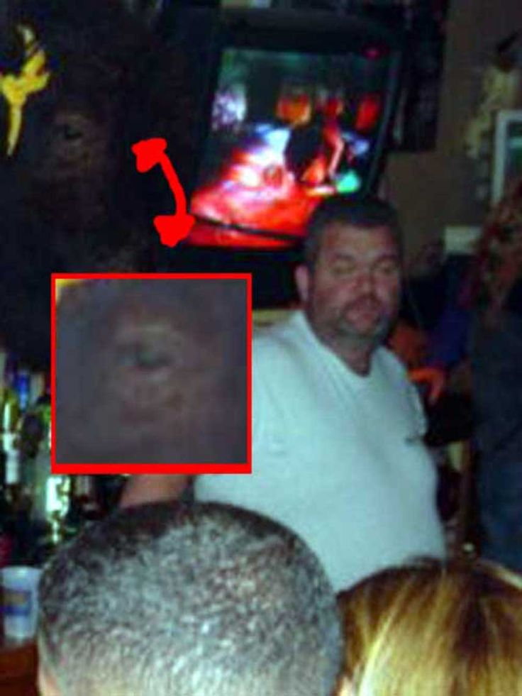 The ghosts eye is watching you. This ghost photo is said by many to defy explanation. The ghost eye seems very human and life like.