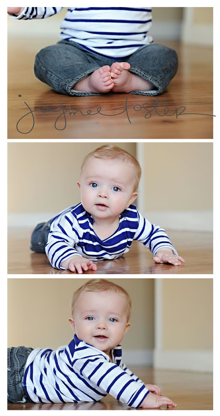6 Month Baby Photo Ideas