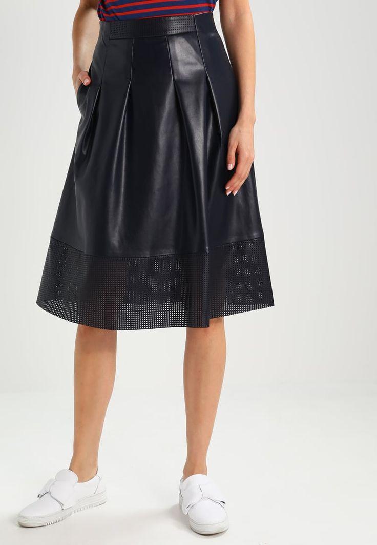 BOSS Orange BESWEDY - A-line skirt - dark blue - Zalando.co.uk