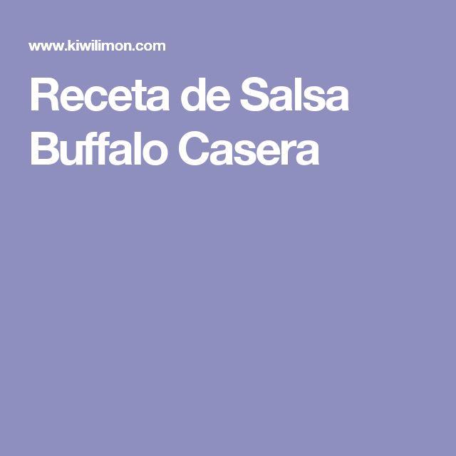 Receta de Salsa Buffalo Casera