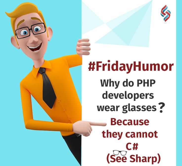 Jokes apart, PHP and C# have their unique features. PHP is a server-side scripting language designed for web development while C# is a programming language that can be used with .Net framework. And, we specialize both in C# and PHP. #fridayhumor #phpdevelopers #sourcesoft