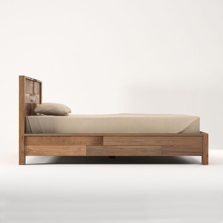 Кровать из массива тика Baker King