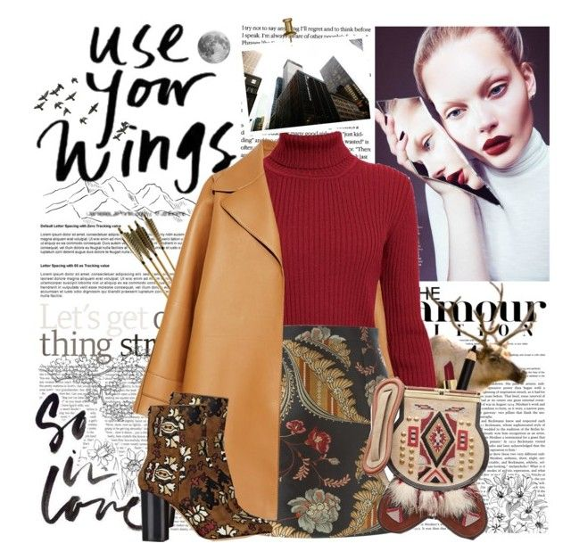 """Use your Wings"" by vampirella24 ❤ liked on Polyvore featuring Rochas, Rumour London, MAC Cosmetics, Dsquared2, Bobbi Brown Cosmetics, Sisley Paris, Isabel Marant, women's clothing, women's fashion and women"