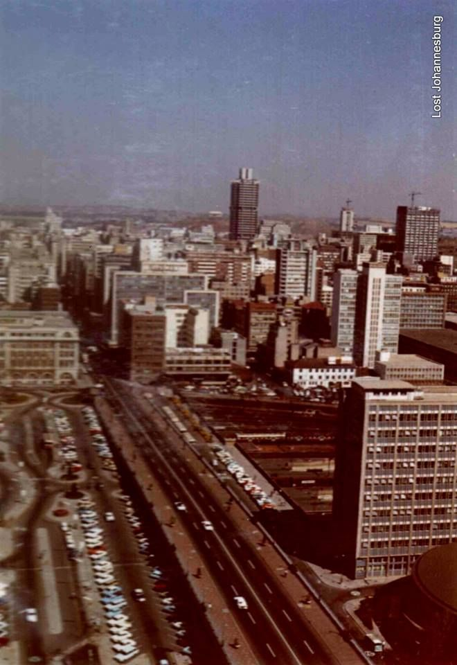 Southern view from Schlesinger Building Braamfontein 1971
