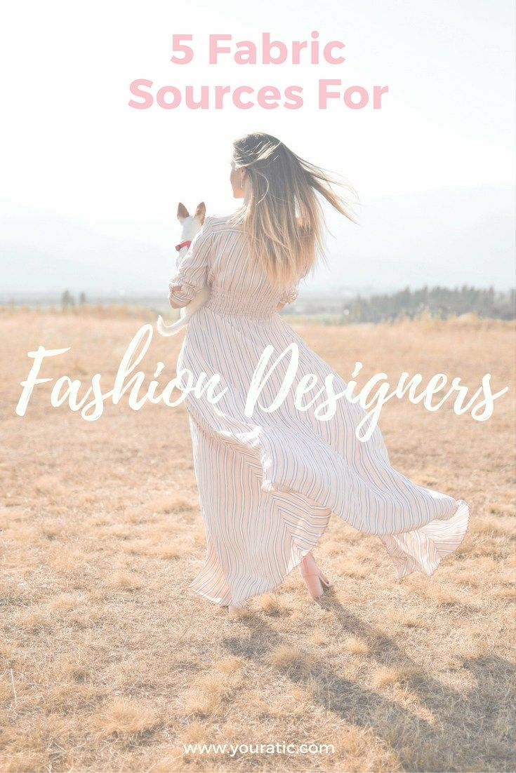 5 Fabric Sources For New Designers Fabric News Design Fashion Fabric