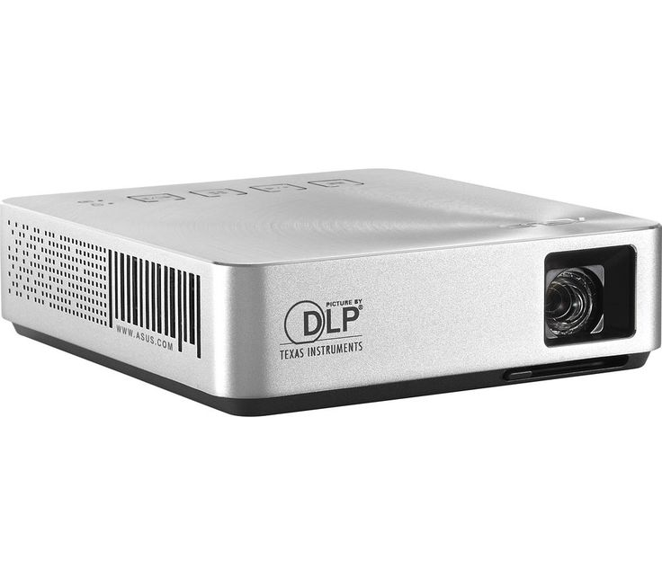 """ASUS  S1 Portable Projector Price: £ 279.99 Consider the highly capable Asus S1 Portable Projector for quality imaging on the go, idea for use in the office or your home cinema. Large, clear display This 200 lumen, short-throw projector gives a 41"""" diagonal display at just 1 metre distance, great for the home cinema, or for home gaming. Asus provide a full multimedia experience through the..."""