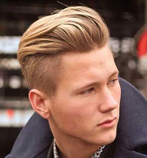 Undercut Haircut9 Pompadour Undercut Kapsels Mannen Mannenkapsels Herenkapsels