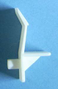 Shelf Support 5mm X 1 2 White 60 Bag 13250 By Bmi 6 00