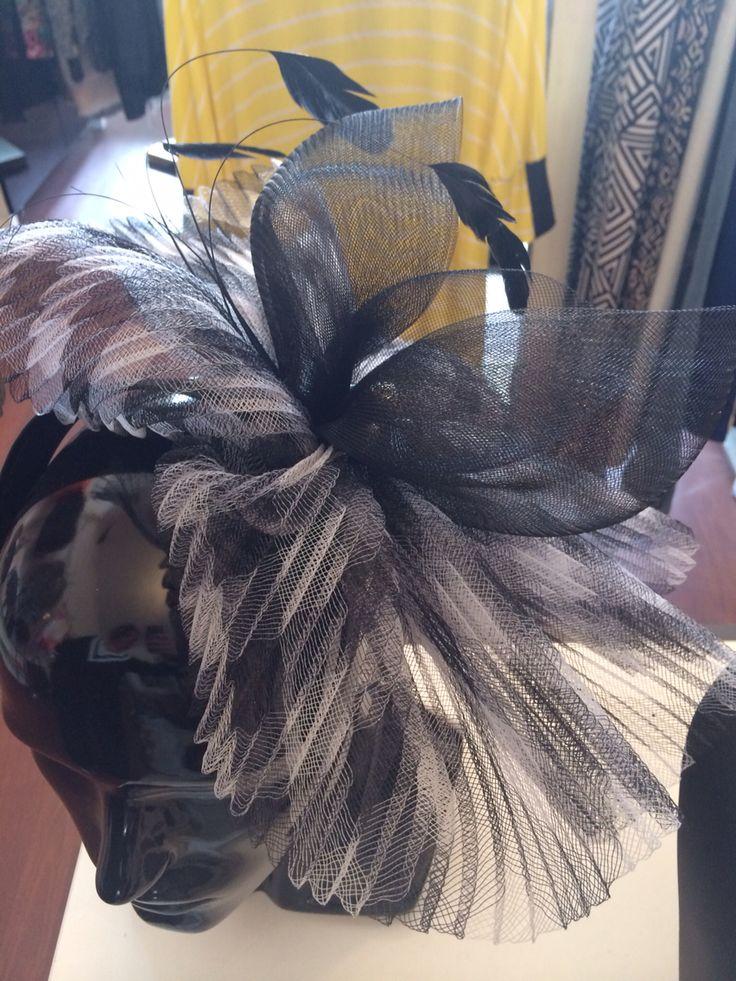 Fascinator - White Pony whitepony.com.au  Enquiries info@whitepony.com.au