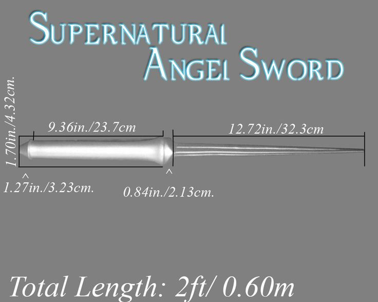 Supernatural Angel Sword by Nox-Umbra on deviantART