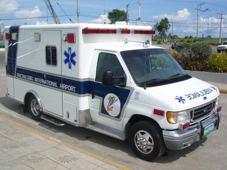 Ambulance in Manila, Philippines