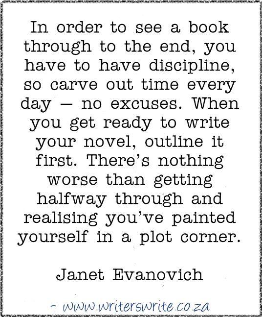 Quotable – Janet Evanovich - Writers Write