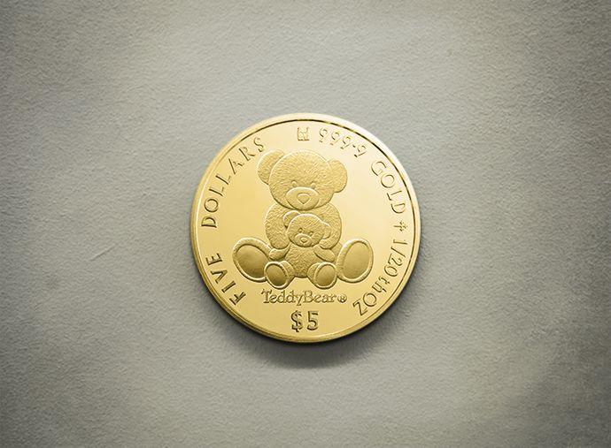 Teddy Bear - Gold 999.9