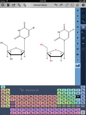 ChemDraw - a great iPad app for drawing molecules and chemical reactions