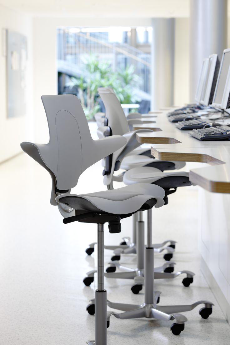 Grey HÅG Capisco Puls #office #Scandinavian #design #InspireGreatWork
