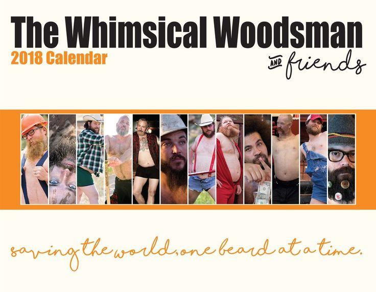 2018 The Whimsical Woodsman & Friends Calendar