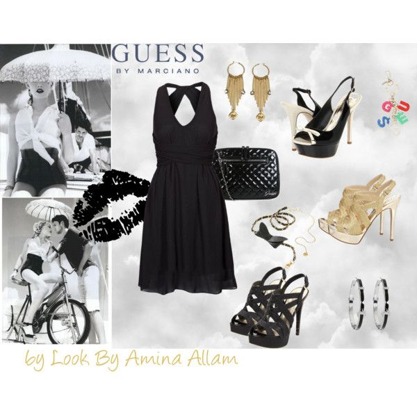 100% Guess, created by Look By Amina Allam