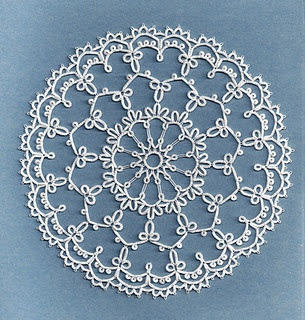 Pretty tatted doily.