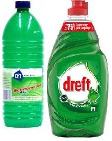 schoonmaakazijn+afwasmiddel=allesreiniger (lost kalk en vet op). azijn=glassex