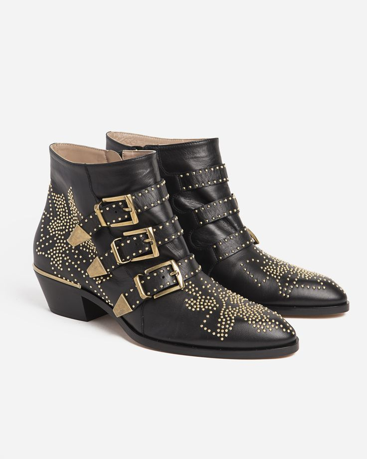 Chloé Susanna Studded Ankle Boot