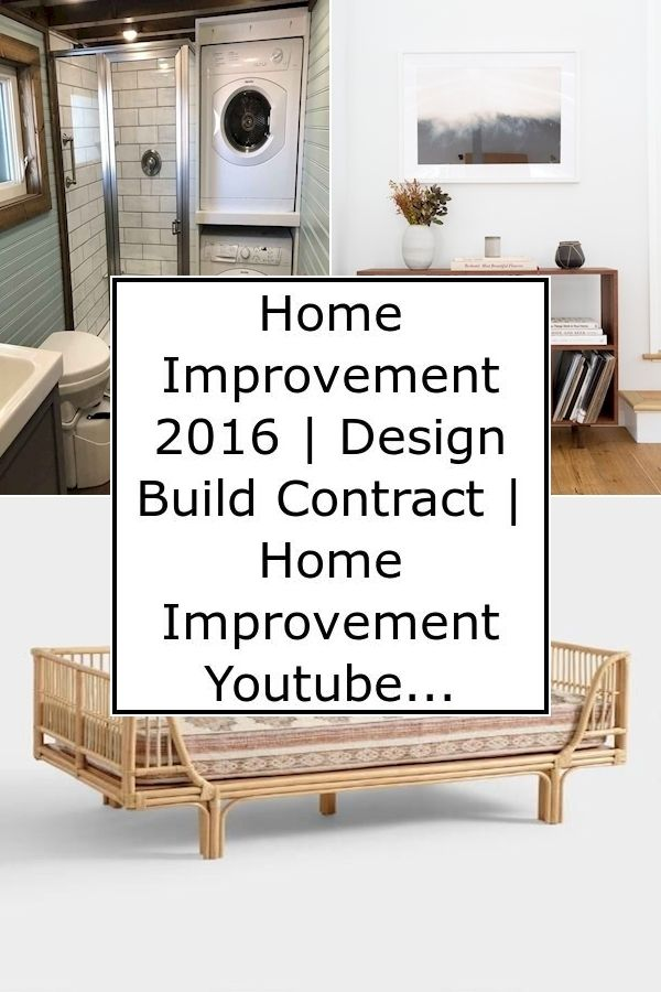 Home Improvement 2016 Design Build Contract Home Improvement