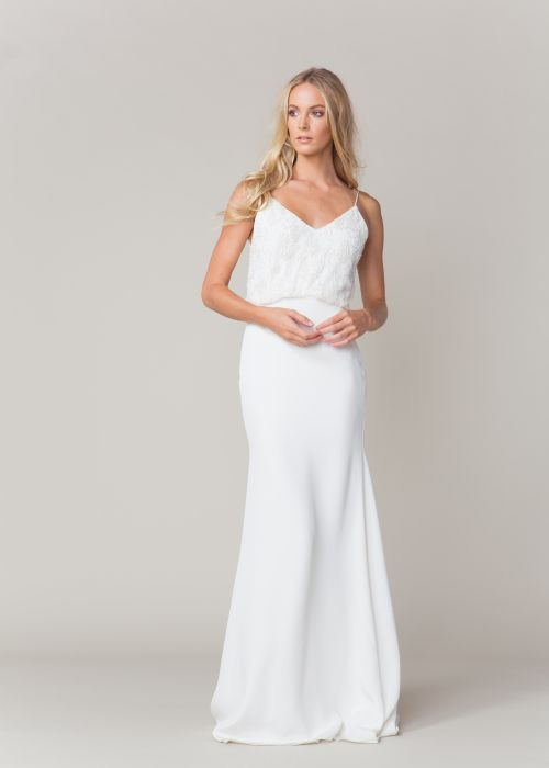 Perry by Sarah Seven available at The Bridal Atelier www.thebridalatelier.com.au @thebridalatelier #sheisthebridalatelierbride