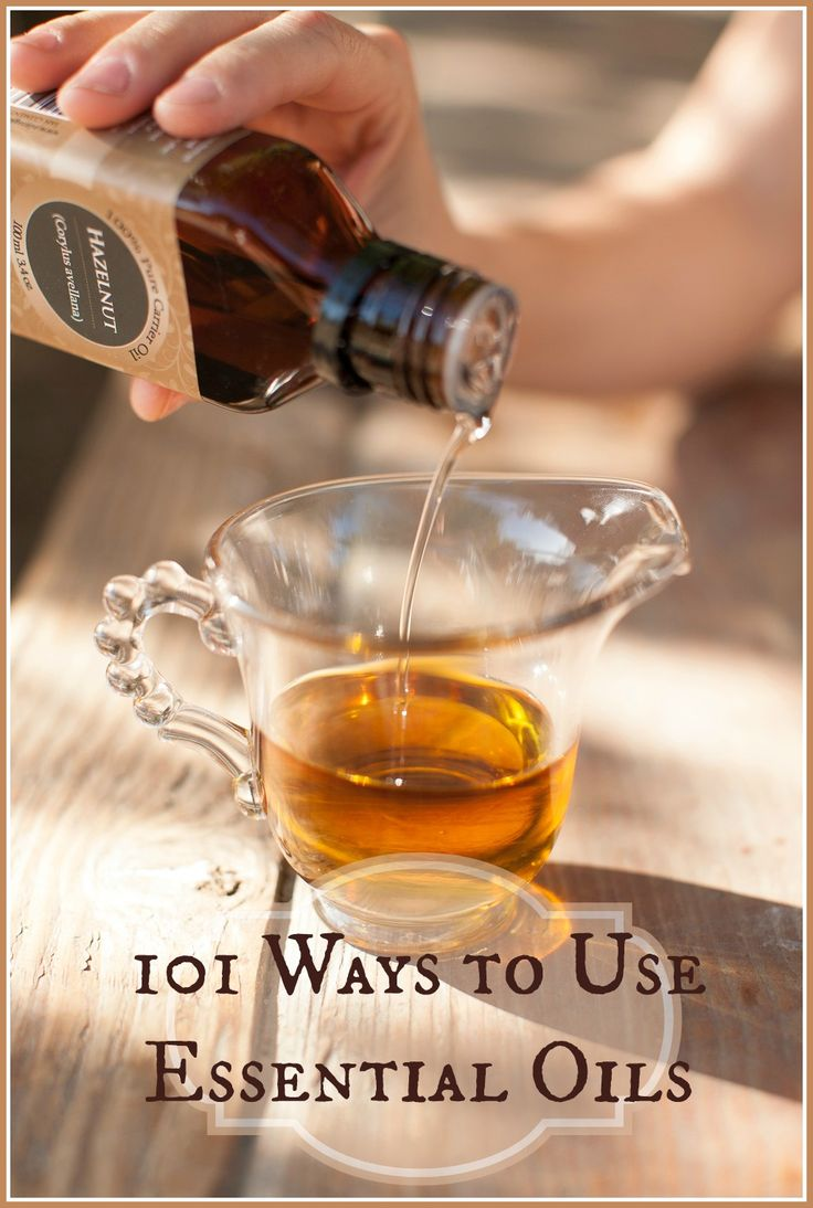 101 Ways to Use Essential Oils - this came in a brochure with my first purchase of essential oils from Edens Garden.  Link leads to Edens Garden tip page.