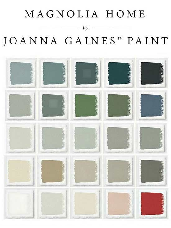 If you love Joanna Gaines and Fixer Upper, we have a treat for you! These are the latest paint colors from her paint line, Magnolia Home by Joanna Gaines. You're sure to come up with the perfect calm and cozy color scheme for your home with these inspiring farmhouse paint colors.