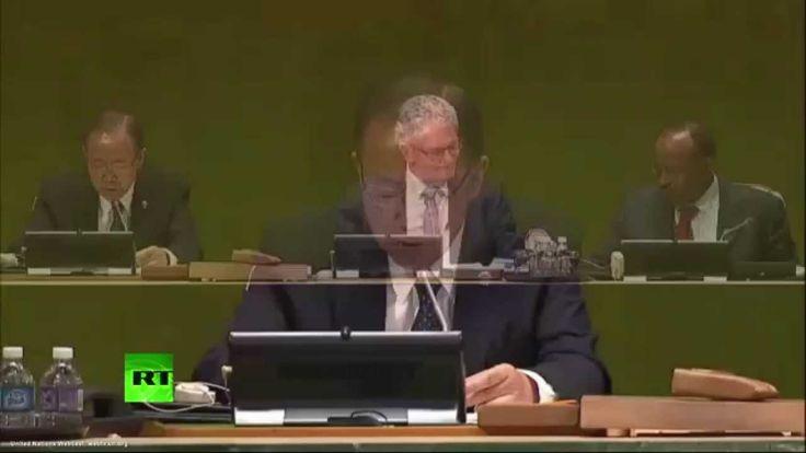 Прямая трансляция открытия 70-й сессии Генеральной Ассамблеи ООН