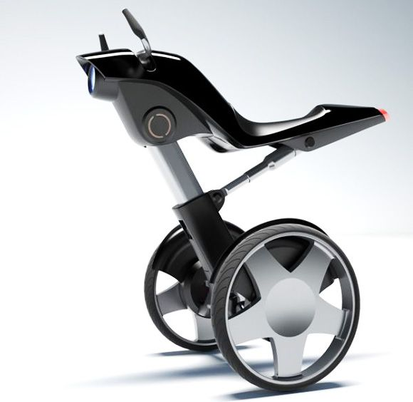 Electric bicycle concept - look like segway? or auto bike?