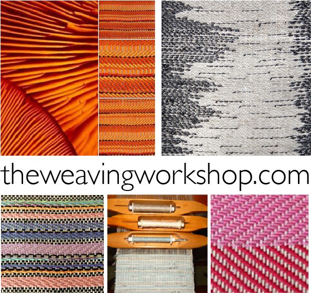 The Weaving Workshop - offering online creative weaving studies to motivate, inspire, and provide practical tips for time spent at the loom. www.theweavingworkshop.com