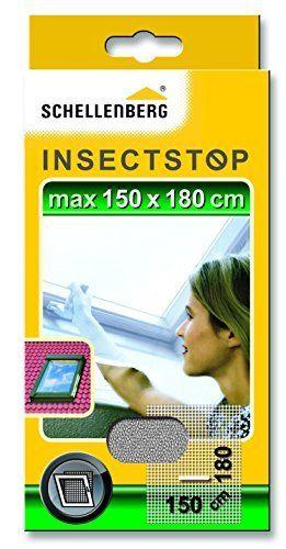 Schellenberg Moustiquaire pour lucarne 150 x 180 cm: Price:7.14Moustiquaire, protection contre les insectes et moustiques pour les lucarnes…