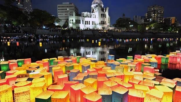 Las ceremonias para conmemorar lo ocurrido en Hiroshima estuvieron acompañadas por protestas antinucleares