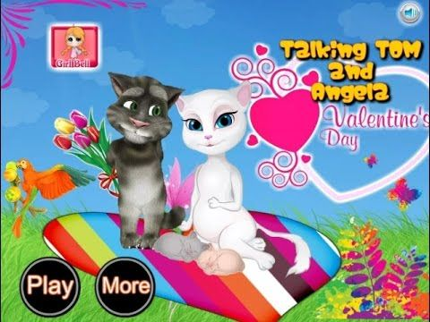 Tom and Angela Valentine`s Day - Talking Tom Game Tutorial 2016