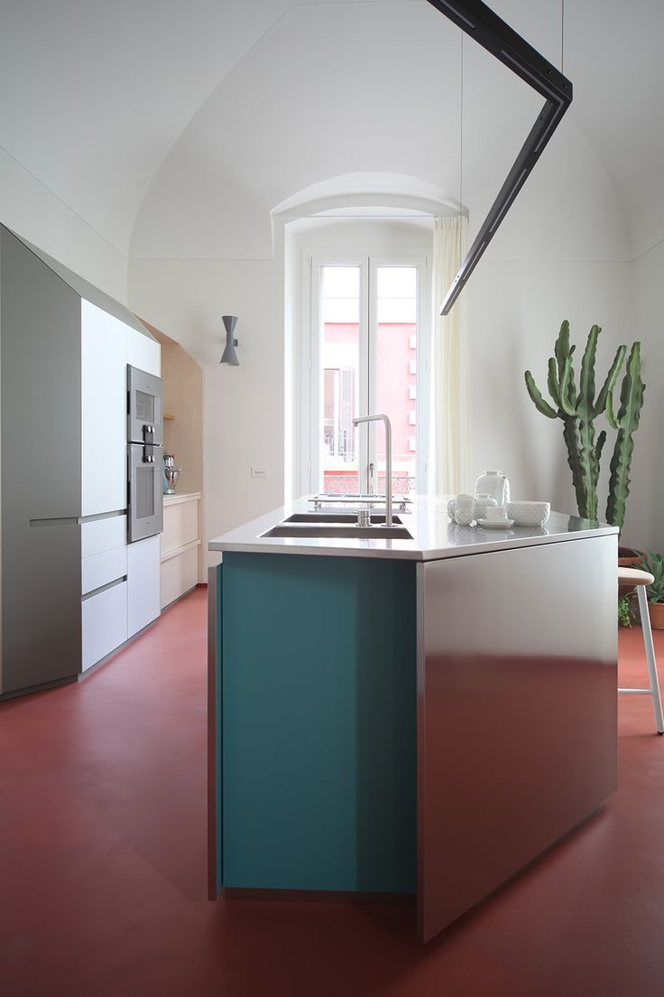 Marcante-Testa do it again with this architecturally unique kitchen design