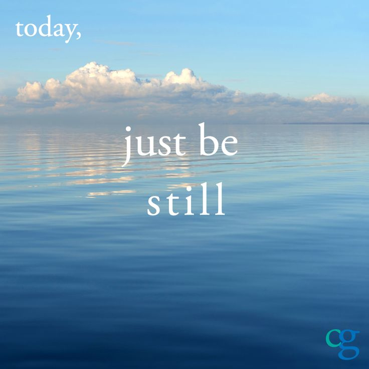 Today, just be... | The Caregiver Space BlogThe Caregiver Space Blog