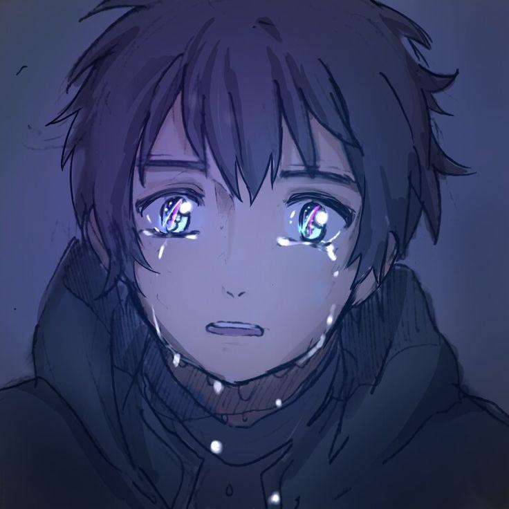 crying anime male wwwimgkidcom the image kid has it